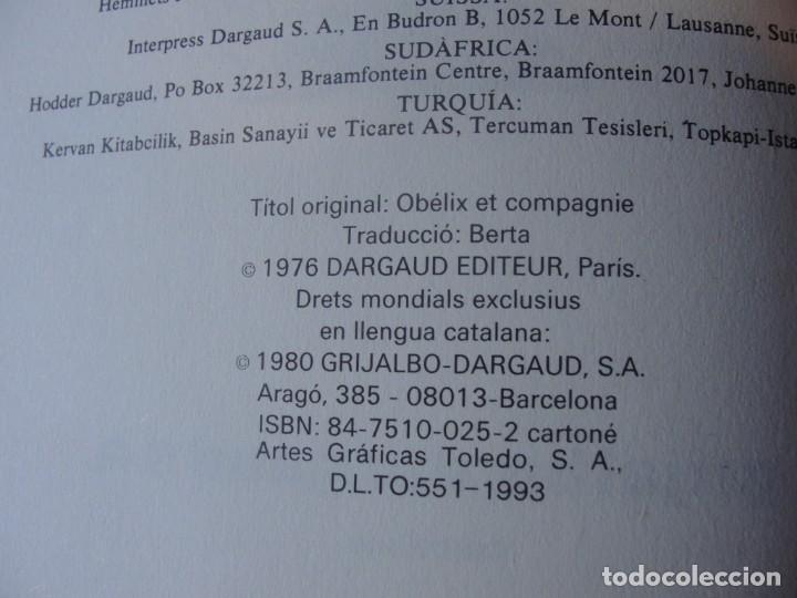 Cómics: ASTERIX - OBELIX I COMPANYA / DARGAUD GRIJALBO 1993 - DE LLIBRERIA MAI LLEGIT - PORTS PAGATS - Foto 3 - 221302325