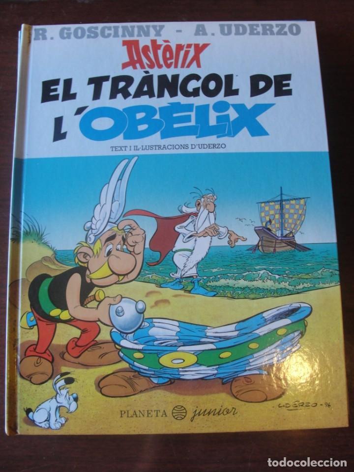ASTERIX EL TRÀNGOL DE L´ OBELIX - PLANETA JUNIOR 1996 / 1ª ED. - STOC BOTIGA / SENSE US (Tebeos y Comics Pendientes de Clasificar)