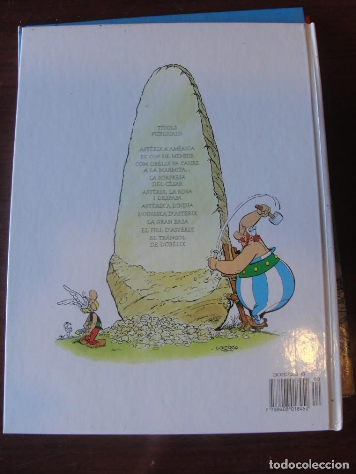 Cómics: asterix el tràngol de l´ Obelix - planeta junior 1996 / 1ª ed. - STOC BOTIGA / SENSE US - Foto 2 - 221303791