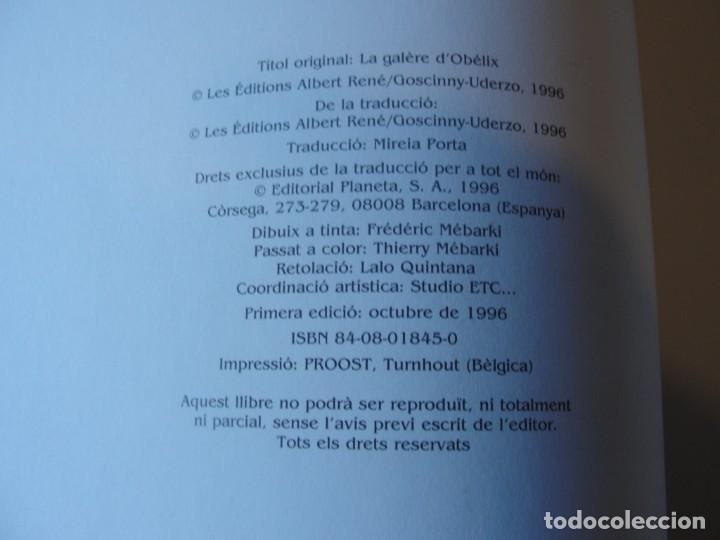 Cómics: asterix el tràngol de l´ Obelix - planeta junior 1996 / 1ª ed. - STOC BOTIGA / SENSE US - Foto 3 - 221303791