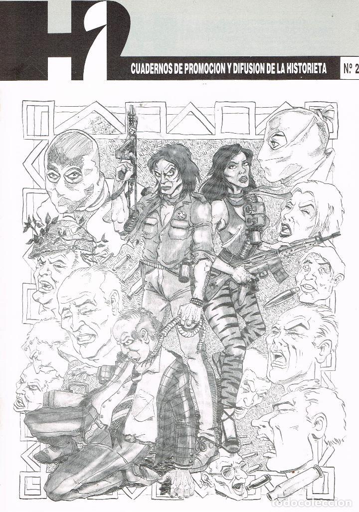 H2,CUADERNOS DE PROMOCIÓN Y DIFUSIÓN DE LA HISTORIETA, Nº 2 (Tebeos y Comics Pendientes de Clasificar)