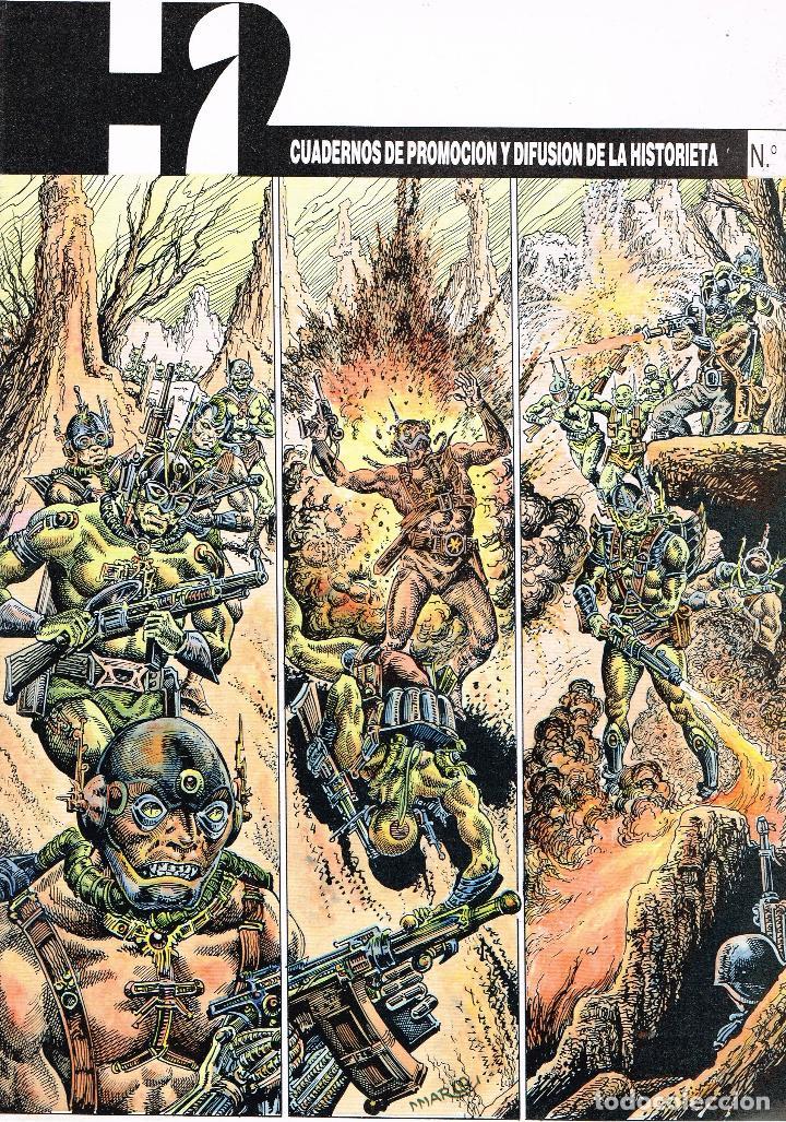 H2,CUADERNOS DE PROMOCIÓN Y DIFUSIÓN DE LA HISTORIETA, Nº 6 (Tebeos y Comics Pendientes de Clasificar)