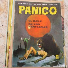 Cómics: COMIC PÁNICO EL BAILE DE LOS FANTASMAS EDITORIAL VILMAR AÑOS 70.. Lote 221398013