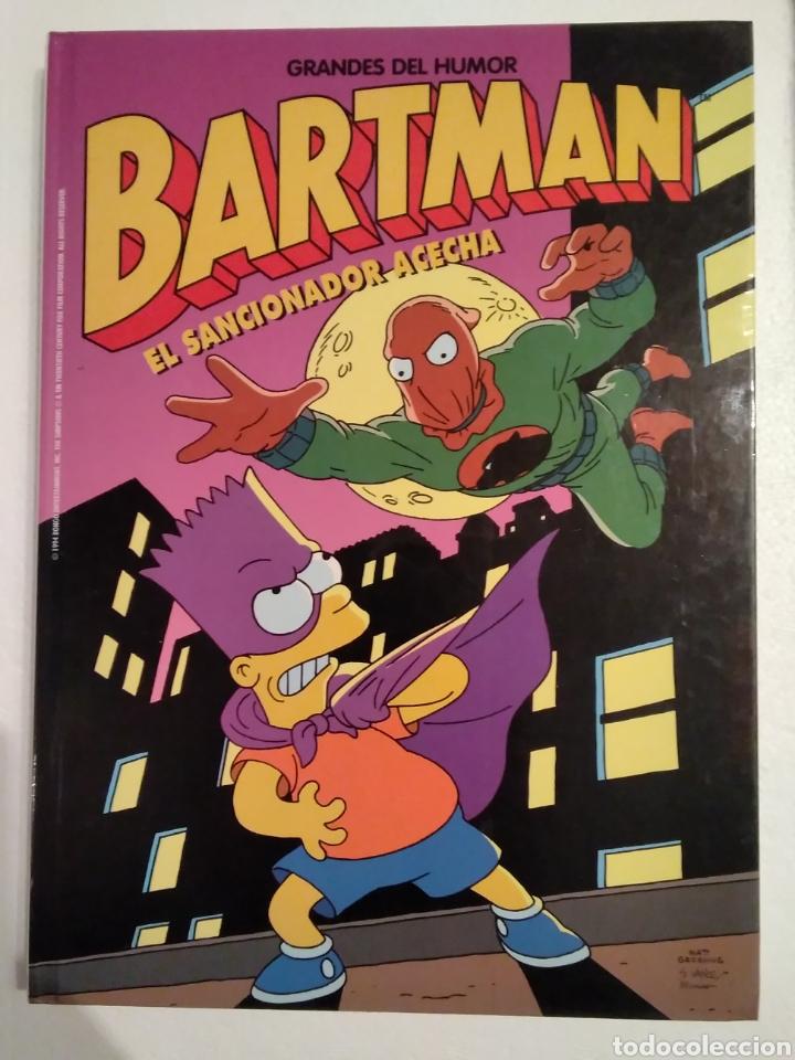 BARTMAN EL SANCIONADOR ACECHA (Tebeos y Comics Pendientes de Clasificar)