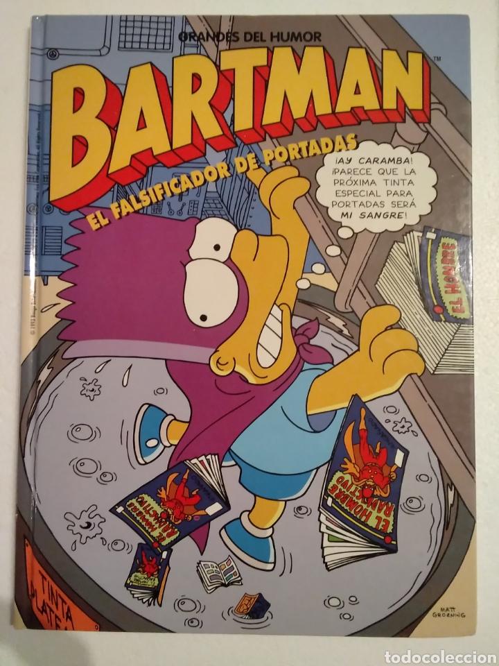 BARTMAN EL FALSIFICADOR DE PORTADAS (Tebeos y Comics Pendientes de Clasificar)