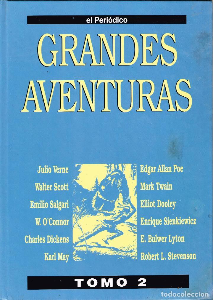 GRANDES AVENTURAS.EL PERIÓDICO TOMO II.(COMPLETO, 20 EJEMPLARES SUELTOS.) (Tebeos y Comics Pendientes de Clasificar)