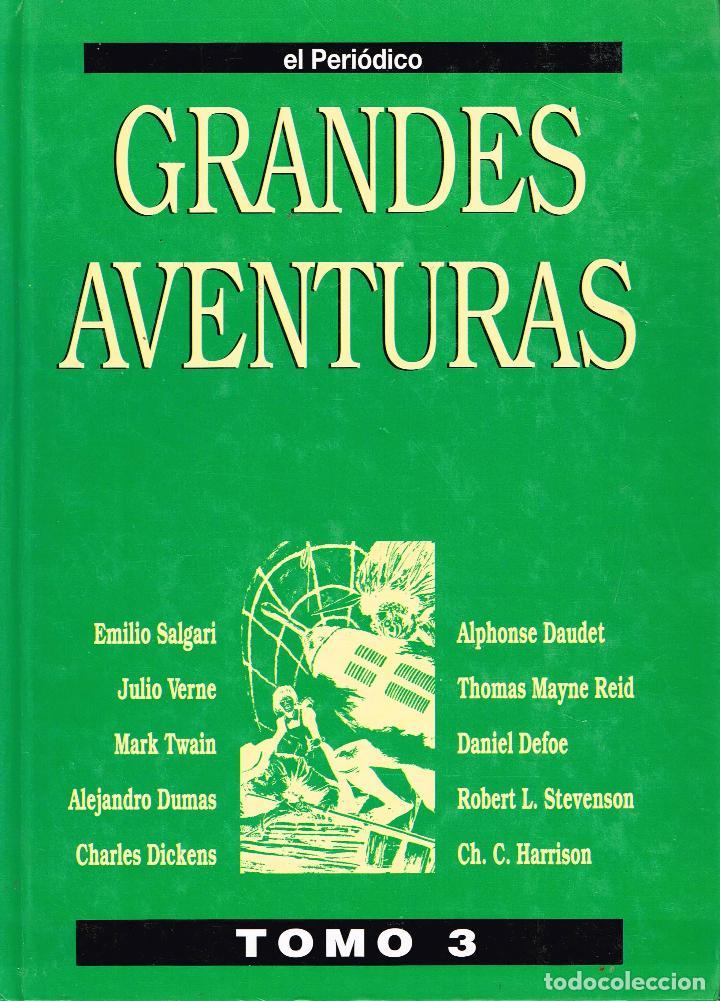 GRANDES AVENTURAS.EL PERIÓDICO TOMO III.(COMPLETO, 25 EJEMPLARES ENCUADERNADO.) (Tebeos y Comics Pendientes de Clasificar)