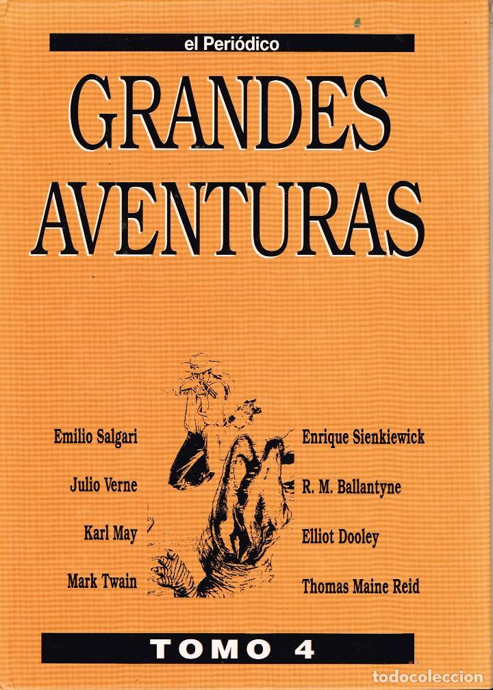 GRANDES AVENTURAS.EL PERIÓDICO TOMO IV.(COMPLETO, 25 EJEMPLARES SUELTOS.) (Tebeos y Comics Pendientes de Clasificar)