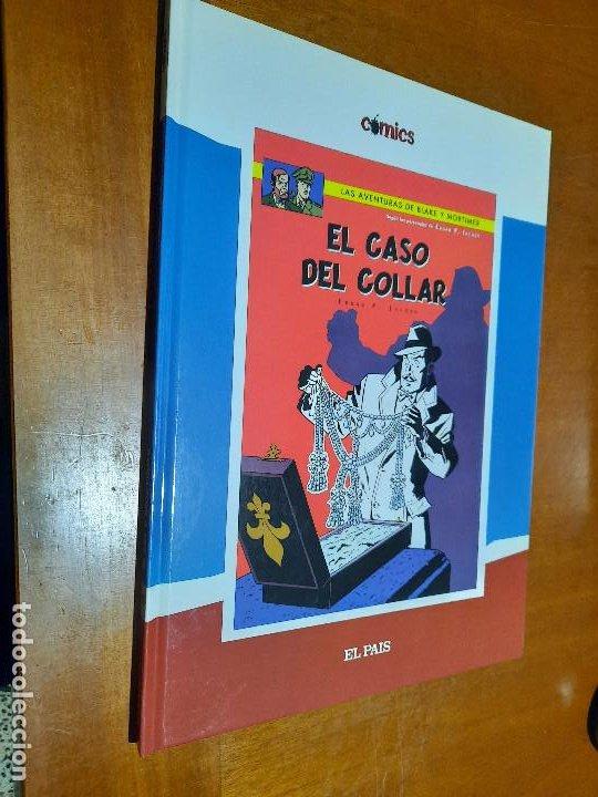 EL CASO DEL COLLAR. LAS AVENTURAS DE BLAKE & MORTIMER. EL PAIS 17. TAPA DURA. BUEN ESTADO. (Tebeos y Comics - Comics otras Editoriales Actuales)