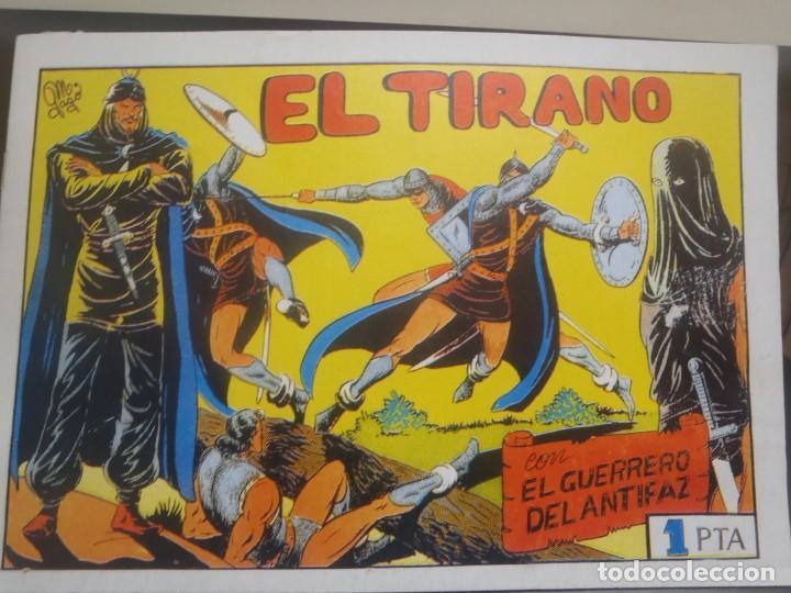 EL GUERRERO DEL ANTIFAZ Nº 56 - FACSIMIL (Tebeos y Comics Pendientes de Clasificar)