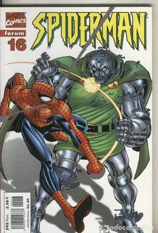 SPIDERMAN TERCERA SERIE, PRESTIGIO LOMO ROJO NUMERO 16 (Tebeos y Comics Pendientes de Clasificar)