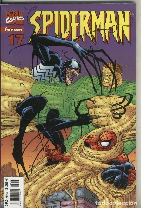 SPIDERMAN TERCERA SERIE, PRESTIGIO LOMO ROJO NUMERO 17 (Tebeos y Comics Pendientes de Clasificar)