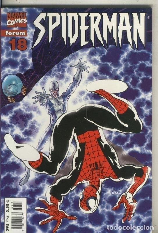 SPIDERMAN TERCERA SERIE, PRESTIGIO LOMO ROJO NUMERO 18 (Tebeos y Comics Pendientes de Clasificar)