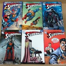 Comics: UNIVERSO DC: SUPERMAN. COMPLETA 1 AL 6 TOMOS.PLANETA 2009.. Lote 221575503