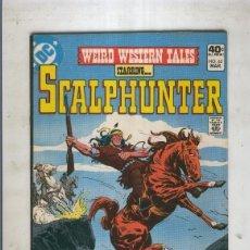 Cómics: WEIRD WESTERN TALES SCALPHUNTER NUMERO 65. Lote 221625490