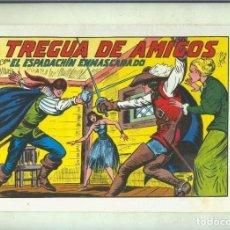 Cómics: EL ESPADACHIN ENMASCARADO TRES EN UNO NUMERO 35: TREGUA DE AMIGOS. Lote 221625728