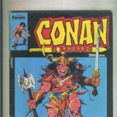 Cómics: CONAN EL BARBARO ESPECIAL VACACIONES 1986 (NUMERADO 3 EN TRASERA). Lote 221625741