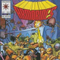 Cómics: ARMORINES VOL.01 NUMERO 03: ENEMY ACTION. Lote 221625967