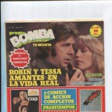 Cómics: BOMBA REVISTA DE COMIC + TV + ARTICULOS DEL CORAZON NUMERO 10. Lote 221626208