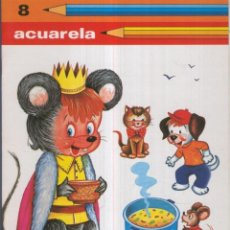 Cómics: ACUARELA NO.08: EL REY DE RATOLANDIA. Lote 221627015