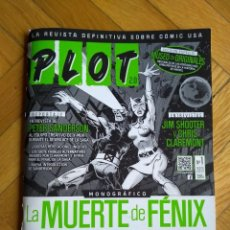 Cómics: PLOT 2.0 Nº 1 - MONOGRÁFICO: LA MUERTE DE FÉNIX. Lote 221661396