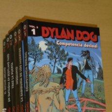 Cómics: *** PRECIO NETO *** DYLAN DOG VOL. 3 COMPLETA 6 TOMOS - ALETA OFERTA. Lote 221665750