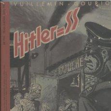 Cómics: HITLER = SS VUILLEMIN-GOURIO CON POSTER. MAKOKI EDICIÓN LIMITADA/CENSURADA.. Lote 221685845