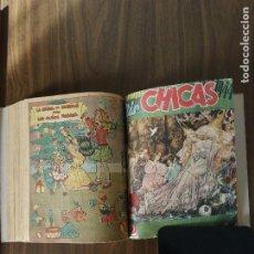 Comics : MIS CHICAS - 4 TOMOS ENCUADERNADOS CON VARIOS NÚMEROS SIN CONTINUIDAD. Lote 221703815