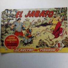 Cómics: EL JABATO Nº 148 - ¡EL RASTRO DEL TIBURON! - CREACIONES EDITORIALES 1961. Lote 221710601