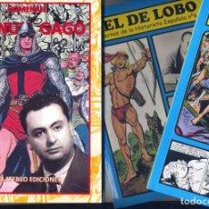 Cómics: LOTE MANUEL GAGO (3 TOMOS DE LA COLECCIÓN CUADERNOS DE LA HISTORIETA ESPAÑOLA). Lote 221711423