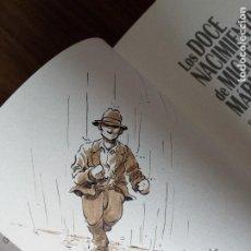 Cómics: LOS DOCE NACIMIENTOS DE MIGUEL MARMOL - DANI FANO (CON DIBUJO ORIGINAL DE DANI FANO). Lote 221712327