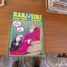 Cómics: HARA KIRI Nº 49 EDITA AMAIKA. Lote 221747373