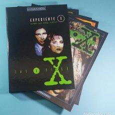 Comics : EXPEDIENTE X VOLUMEN 1 COMPLETO, LA VANGUARDIA: TAPAS + 15 FASCICULOS + GUARDAS, SIN ENCUADERNAR. Lote 221773007