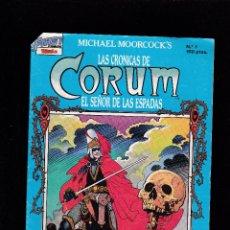 Cómics: LAS CRONICAS DE CORUM - Nº 1 DE 16 - EL SEÑOR DE LAS ESPADAS - VI 1988 - TEBEOS S. A. -2-. Lote 221783527