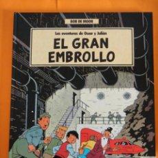Cómics: LAS AVENTURAS DE OSCAR Y JULIAN Nº 1 - EL GRAN EMBROLLO - 1988 GRIJALBO .. Lote 221784156