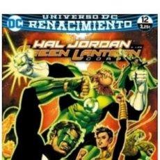 Cómics: LIBRO HAL JORDAN Y LOS GREEN LANTERN CORPS NUM 6712 RENACIMIEN - SERGIO SANDOVAL. Lote 221854526
