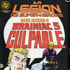 Cómics: LEGION DE SUPERHEROES 17 EL JUICIO DE BRAINIAC 5 ZINCO ED. 1989 - PAUL LEVITZ. Lote 221858250