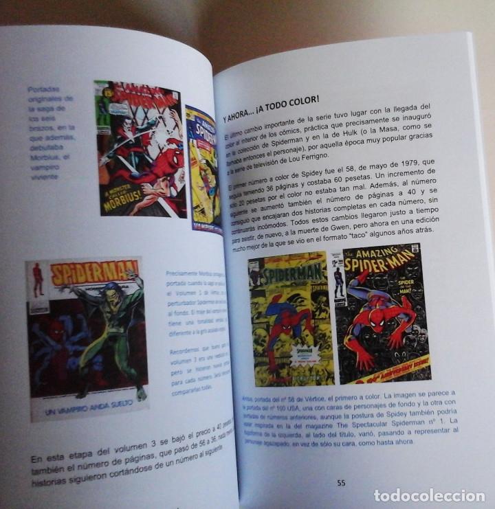 Cómics: Barrabasadas Vértice: Spiderman. Libro sobre la edición de los cómics de Spiderman en España - Foto 3 - 247446755