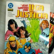 Cómics: ANTES CONOCIDOS COMO LIGA DE LA JUSTICIA DE KEITH GIFFEN. NORMA 2004. Lote 221912118