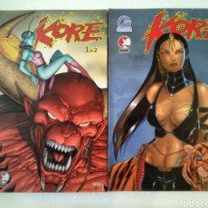 Cómics: KORE 1 Y 2 COMPLETA. Lote 221949276