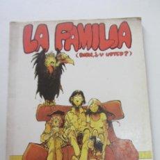 Fumetti: PAPEL VIVO 17 - LA FAMILIA BIEN Y USTED - EQUIPO BUTIFARRA ED. DE LA TORRE 1980. CX74. Lote 221951231