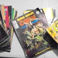 Cómics: 63 RELATOS SALVAJES CONAN MUNDI COMICS + LA ESPADA SALVAJE DE CONAN SERIE ORO PLANETA. Lote 221956003