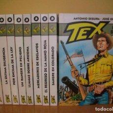 Cómics: TEX EDICIONES ALETA LOTE AVANZADO. Lote 221957965