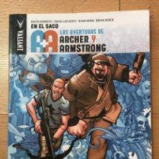Cómics: LAS AVENTURAS DE ARCHER Y ARMSTRONG, VALIANT, TOMO 1. Lote 222012420
