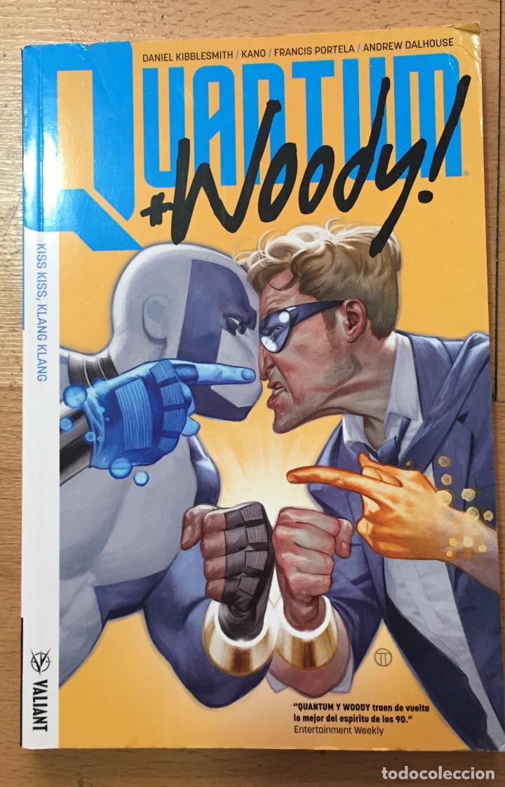 QUANTUM WOODY, TOMO 1, VALIANT MEDUSA (Tebeos y Comics - Comics otras Editoriales Actuales)
