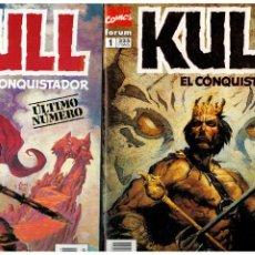 Cómics: KULL EL CASTIGADOR. - COMPLETA 1 AL 21 - FORUM.. Lote 222041356