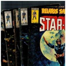 Cómics: RELATOS SALVAJES V.1. STAR-LORD. COMPLETA 5 NÚMEROS: 34,50,59,61 Y 70. VERTICE. LEER. Lote 222049328