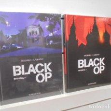Cómics: ***PRECIO NETO *** BLACK OP INTEGRAL 1 Y 2 - PONENT MON OFERTA (ANTES 64,00 EU.). Lote 222049881