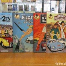 Cómics: LAS INVESTIGACIONES DE MARGOT / 4 TOMOS COLECCION COMPLETA / NETCON2 EDITORIAL. Lote 222064545