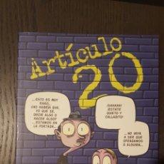 Cómics: CÓMIC - ARTÍCULO 20 - ASTIBERRI EDICIONES - DOLMEN EDITORIAL. Lote 222076625